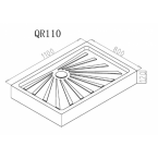 Душевой поддон Cerutti SPA QR110