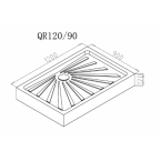 Душевой поддон Cerutti SPA QR120/90