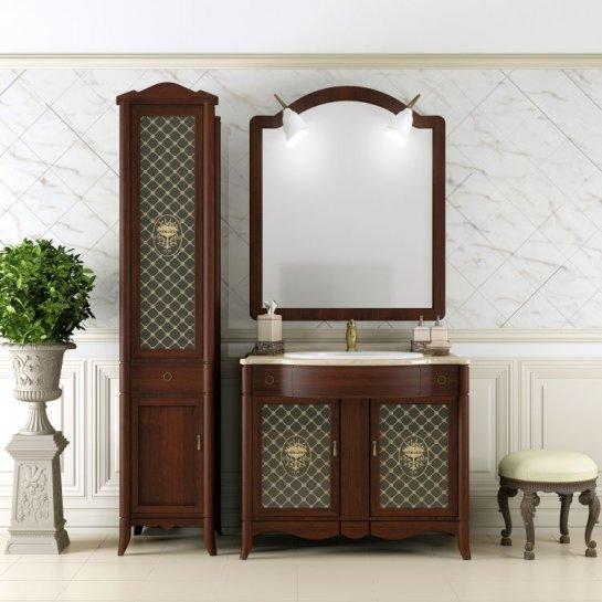 Мебель для ванной Opadiris Виктория 90 светлый орех