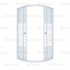 Душевой уголок Triton Стандарт Аква Квадраты 90х90 без поддона
