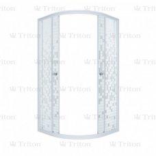 Душевой уголок Triton Стандарт Аква Мозаика 90х90 без поддона
