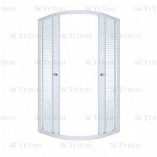 Душевой уголок Triton Стандарт Аква Полосы 90х90 без поддона