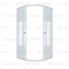 Душевой уголок Triton Стандарт Аква Узоры 90х90 без поддона