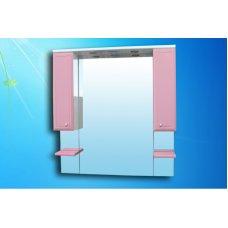 Зеркало Монако 105 Розовое